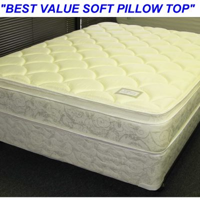 Williams Pillow Top Mattress Set Queen