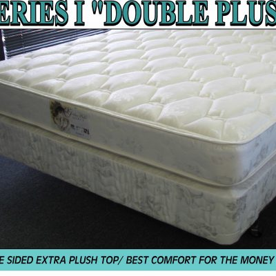 Series I Queen Mattress Plush Double Sided Set