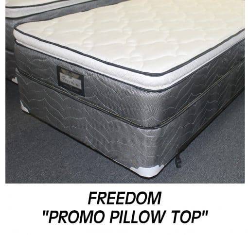 Freedom Queen Promo Pillow Top Set Special