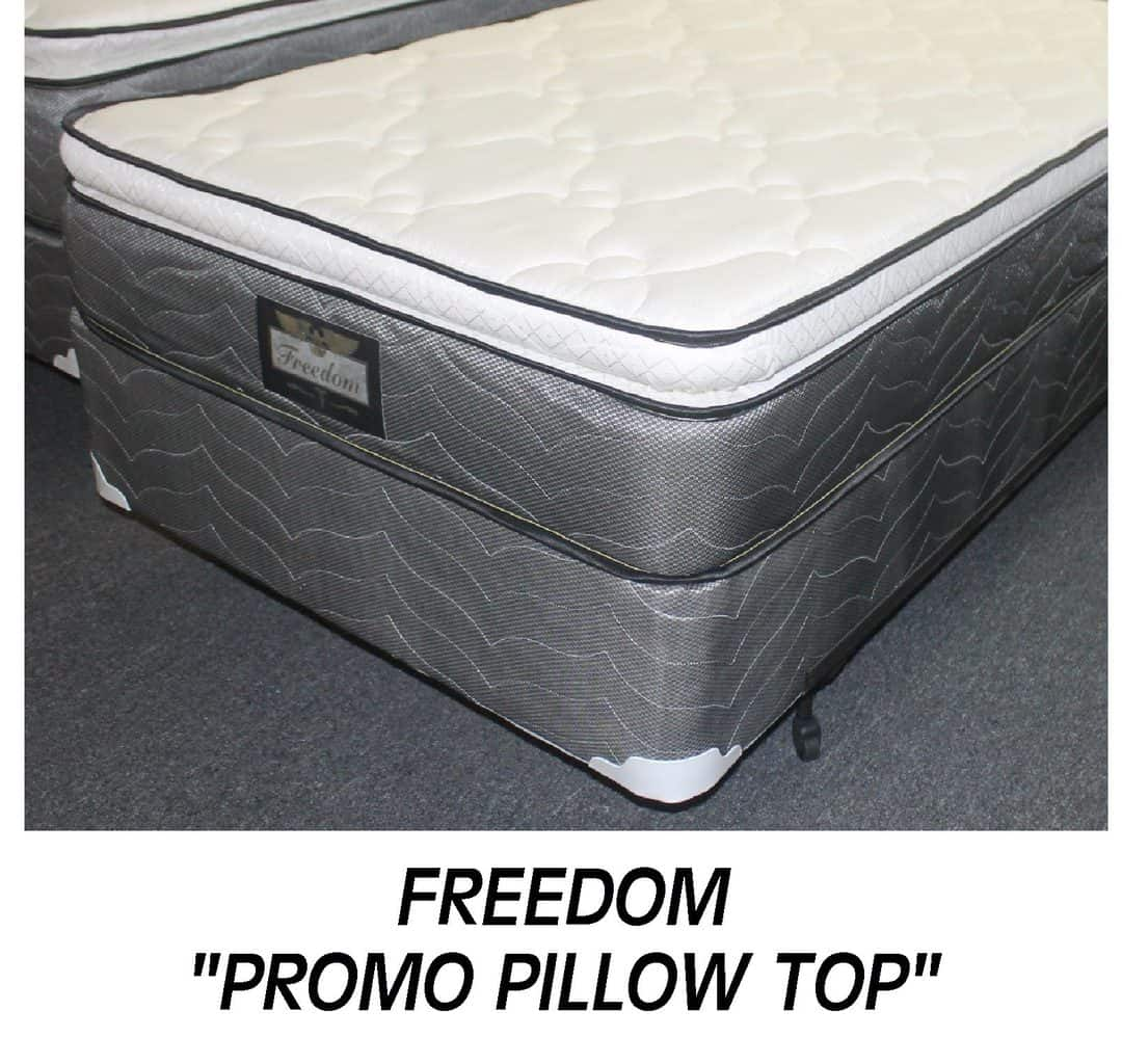 Freedom Full Promo Pillow Top Set Special Mcallen Furniture