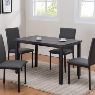 Orlo Dining Room Set Grey