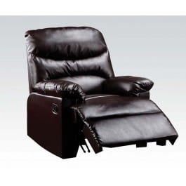 Arcadia Recliner Bonded Leather